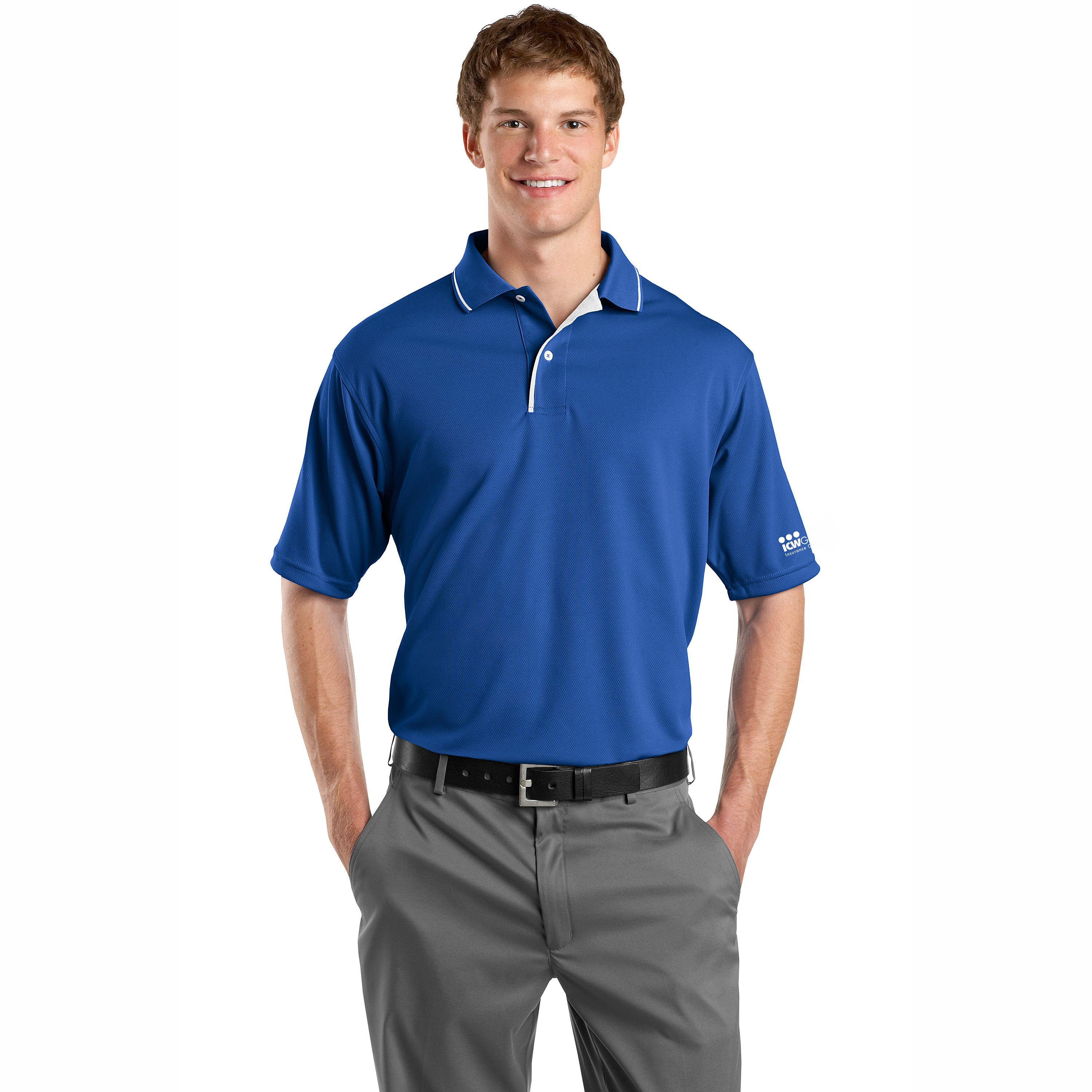 Sport Tek Dri Mesh Polo With Tipped Collar And Piping Icw Group Gear